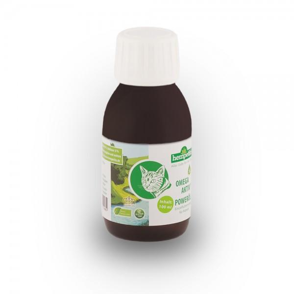 Omega-aktiv+ Poweröl für Katzen 100 ml